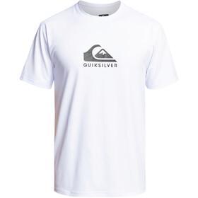 Quiksilver Solid Streak SS Surf Tee Men, blanco